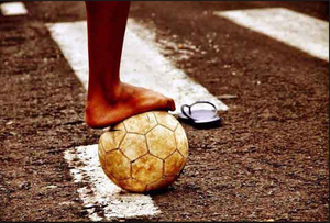 Arte jogar bola